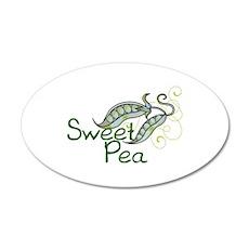 SWEET PEA Wall Decal