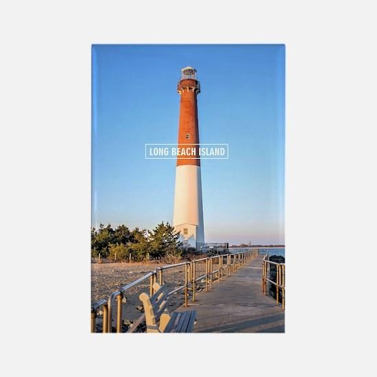 Long Beach Island - New Jersey. Rectangle Magnet