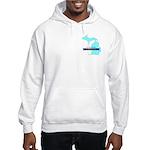 True Blue Michigan LIBERAL Hooded Sweatshirt