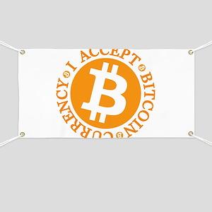 Type 2 I Accept Bitcoin Banner