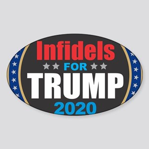 Infidels for Trump 2020 Sticker