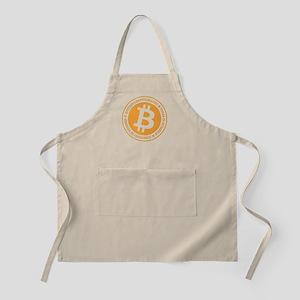 Type 1 Bitcoin Logo Apron