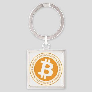 Type 1 Bitcoin Logo Keychains