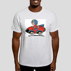 Rocket Boy Ash Grey T-Shirt