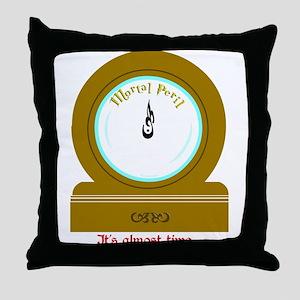 Molly's Clock Throw Pillow