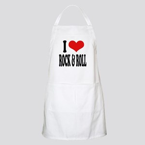 I Love Rock & Roll BBQ Apron