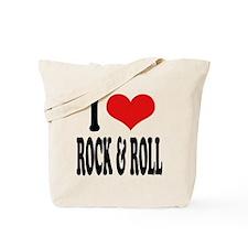 I Love Rock & Roll Tote Bag