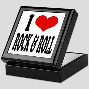 I Love Rock & Roll Keepsake Box