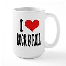 I Love Rock & Roll Large Mug