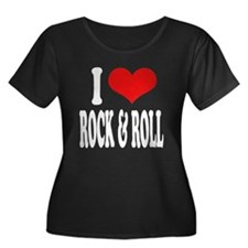 I Love Rock & Roll Women's Plus Size Scoop Neck Da