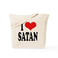 I Love Satan Tote Bag