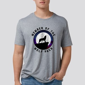 Member of the Wolf Pack Mens Tri-blend T-Shirt