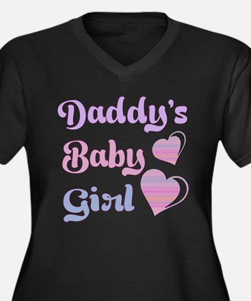 Daddy's Baby Girl Plus Size T-Shirt