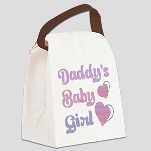 Daddy's Baby Girl Canvas Lunch Bag