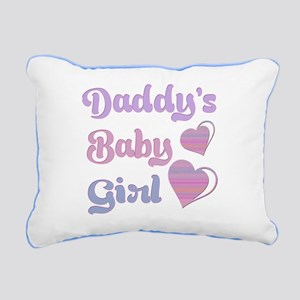 Daddy's Baby Girl Rectangular Canvas Pillow