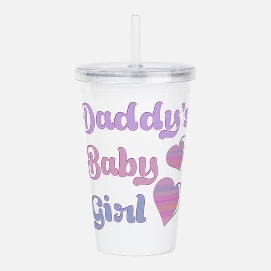 Daddy's Baby Girl Acrylic Double-wall Tumbler