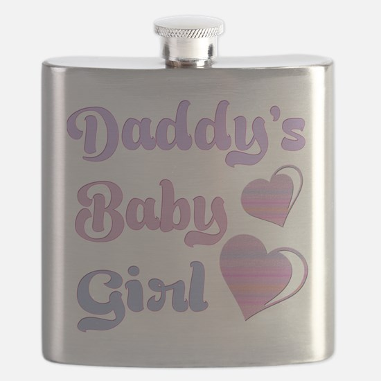 Daddy's Baby Girl Flask