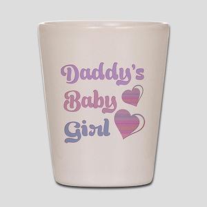 Daddy's Baby Girl Shot Glass