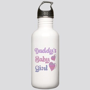 Daddy's Baby Girl Water Bottle