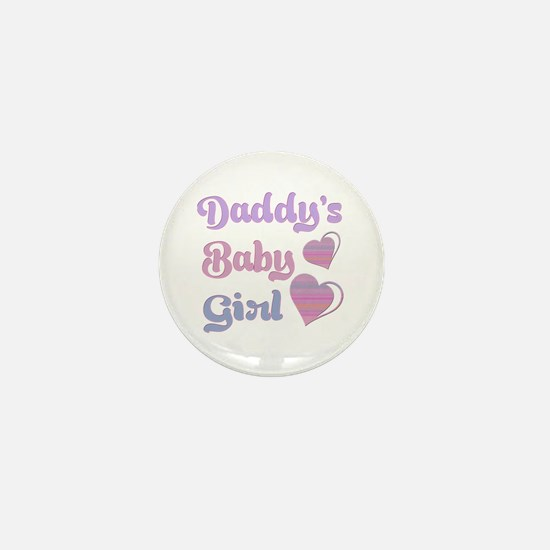 Daddy's Baby Girl Mini Button