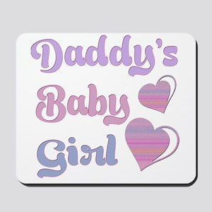 Daddy's Baby Girl Mousepad