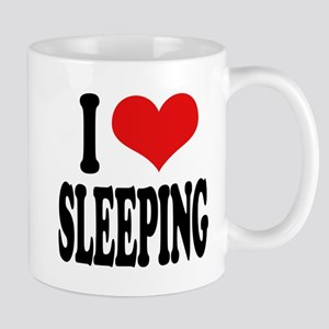 I Love Sleeping Mug