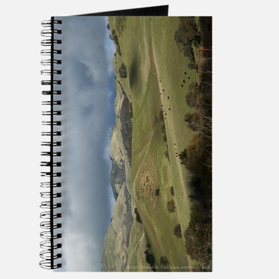Countryside w/ Cows Journal