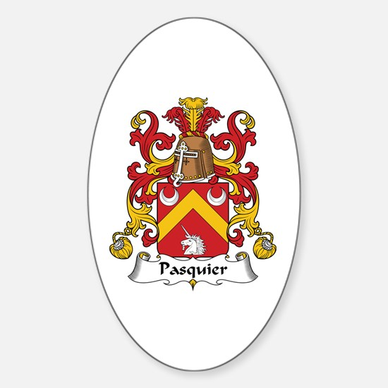 Pasquier Oval Decal