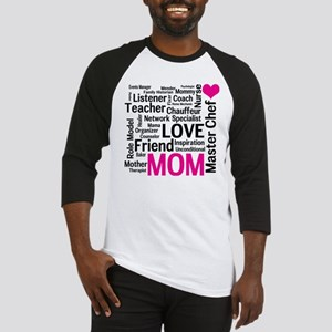 Mothers Day or Mom's Birthday Baseball Jersey