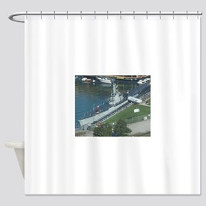 U.S.S. Cod Shower Curtain