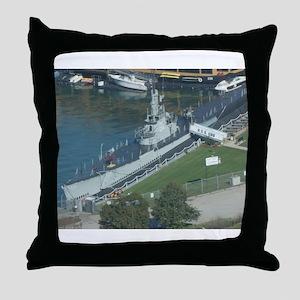 U.S.S. Cod Throw Pillow