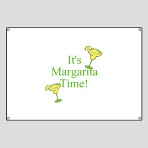 Its Margarita Time! Banner