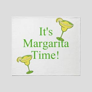 Its Margarita Time! Throw Blanket