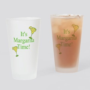 Its Margarita Time! Drinking Glass