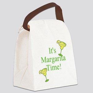 Its Margarita Time! Canvas Lunch Bag
