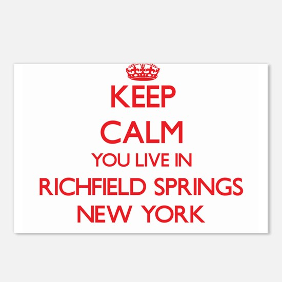 Keep calm you live in Ric Postcards (Package of 8)