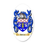 Holian Oval Car Magnet