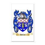 Holian Rectangle Car Magnet