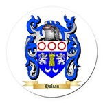 Holian Round Car Magnet