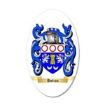 Holian 20x12 Oval Wall Decal