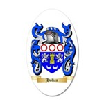 Holian 35x21 Oval Wall Decal