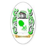 Holesworth Sticker (Oval 10 pk)