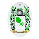 Holesworth Ornament (Oval)