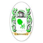 Holdsworth Sticker (Oval 50 pk)