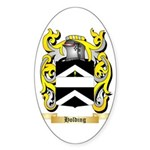 Holding Sticker (Oval 10 pk)