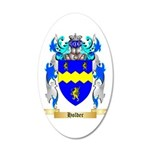 Holder 20x12 Oval Wall Decal