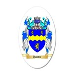 Holder 35x21 Oval Wall Decal