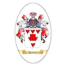 Holden (Lancaster) Sticker (Oval)