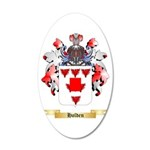 Holden (Lancaster) 20x12 Oval Wall Decal