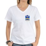 Holcer Women's V-Neck T-Shirt